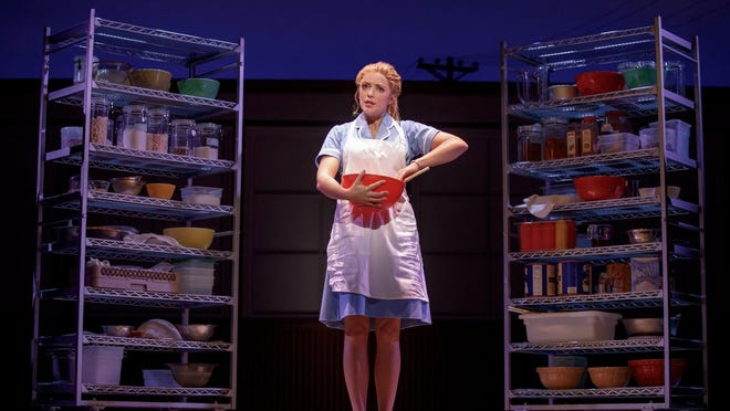 """""""Waitress"""" is based on a 2007 Adrienne Shelly movie about Jenna Hunterson, a mom and a waitress with a gift for pie-making."""