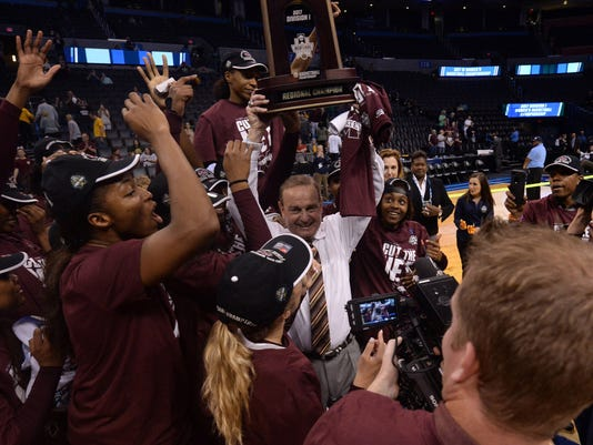 NCAA Womens Basketball: NCAA Tournament-Oklahoma City Regional-Baylor vs Mississippi State