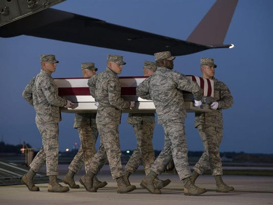 Remains of airman shot down in Iraq 10 years ago returned home
