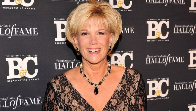 Joan Lunden attends The 2012 Broadcasting & Cable Hall Of Fame Awards at The Waldorf=Astoria on December 17, 2012 in New York City.