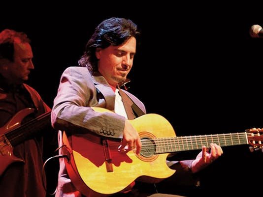 "Robert Michaels, flamenco guitarist, will perform tonight at ""Live On The Lawn"" in Silver City. Courtesy Photo"