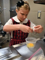 Nikki Goodgion, 9, started a cookie making business