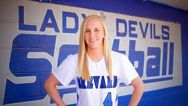 Brevard senior Makayla McNeill.