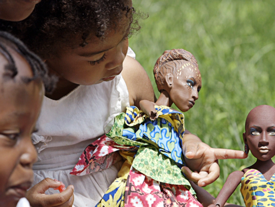 Each doll, or avatar, is a fully fleshed out character.