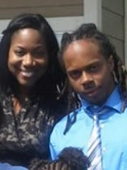Tamika Polk and her brother Robert Polk