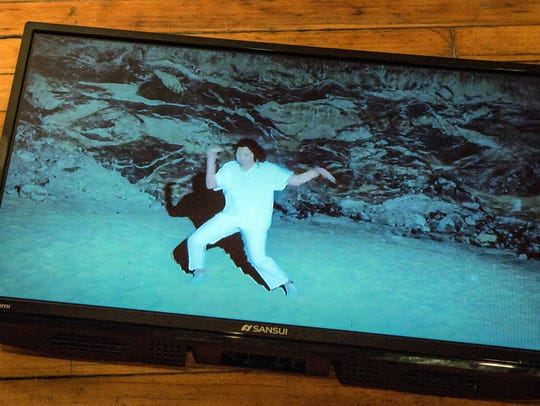 Like many young artists, Jimena Garcia uses technology