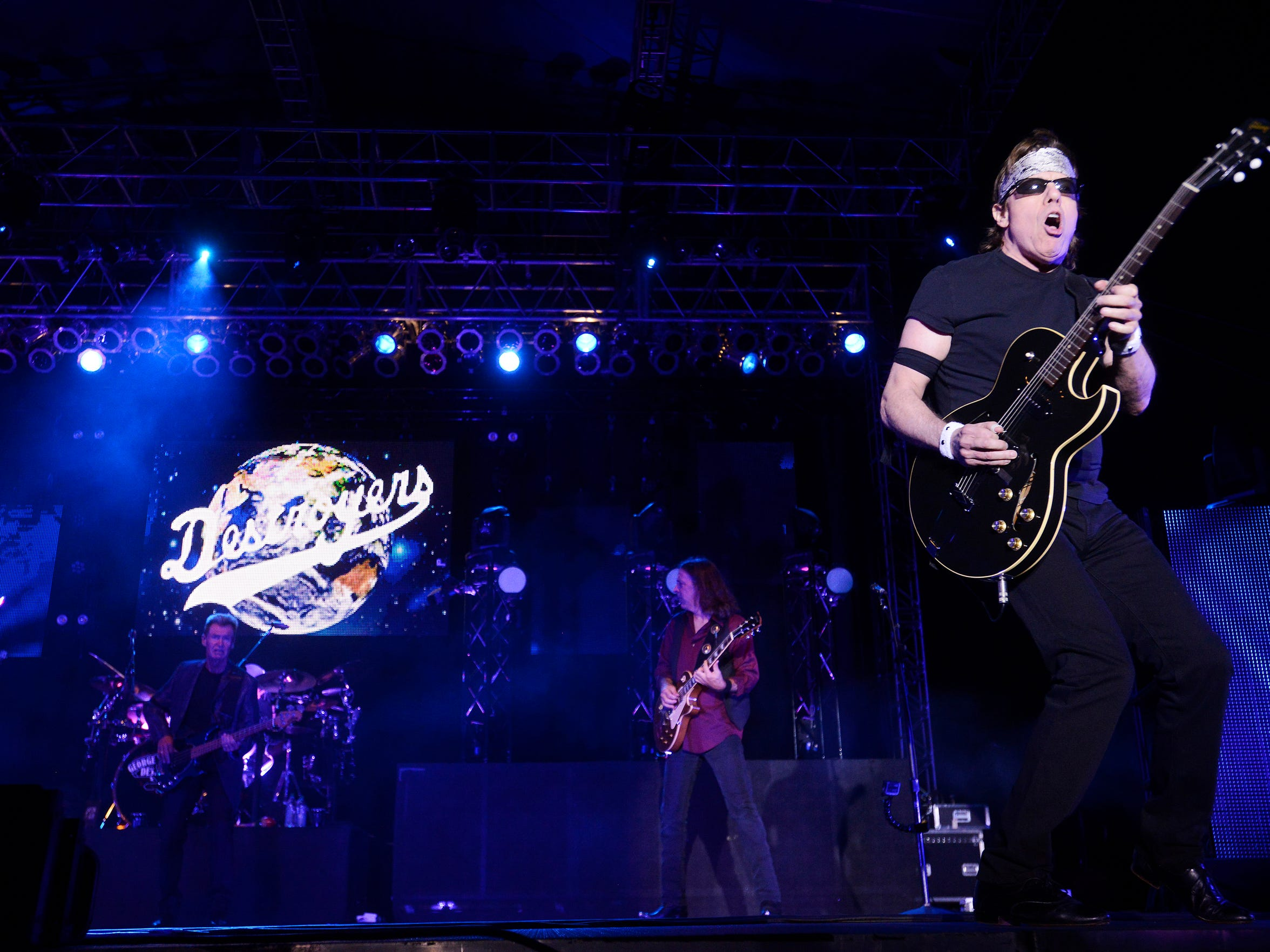 George Thorogood and The Destroyers performed at JazzFest in 2014.