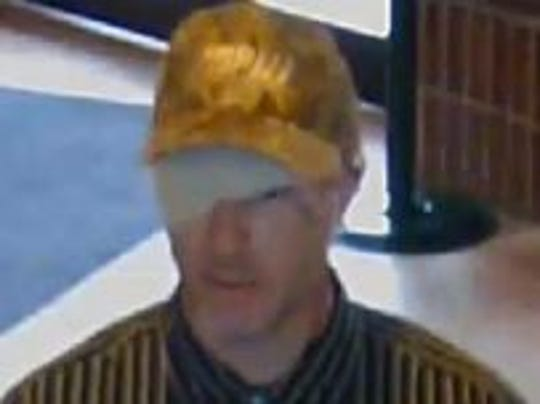 Marion Police released this photo of a man suspect