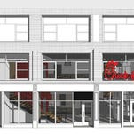 Rendering of Chick-fil-A at 37th and 6th, the first freestanding Chick-fil-A restaurant in New York City, which is set to open in the Garment District on October 3, 2015. (PRNewsFoto/Chick-fil-A, Inc.)