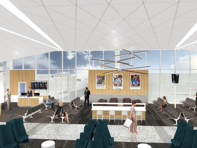 A rendering released by Memphis International Airport