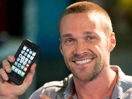Chris Powell looks to apps to shed pounds