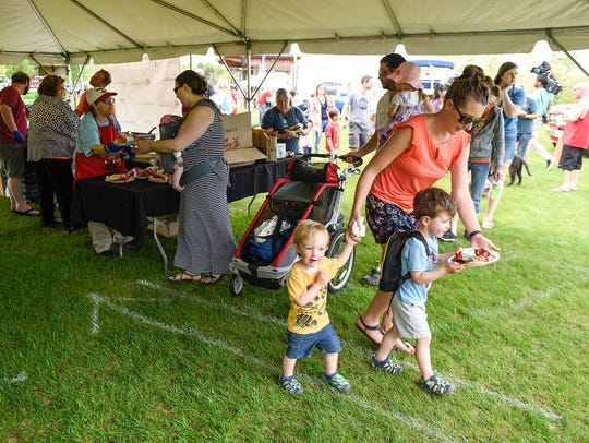 Food, music and fun during the Governor's Fishing Opener