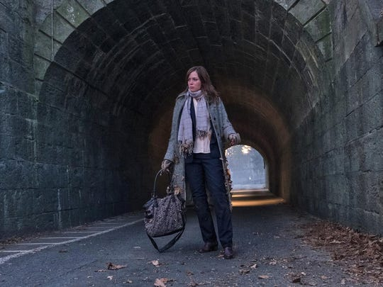 Emily Blunt stars as a blackout drunk who gets embroiled in a mystery in 'The Girl on the Train.'
