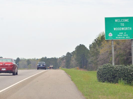 ANI Woodworth Traffic travels along U.S. Route 165 towards Woodworth Monday, March 24, 2014. La. State Rep. Steve Pylant, R-Winnsboro, filed House Bill 961 in response to numerous complaints from motorists traveling through the state about speeding tickets