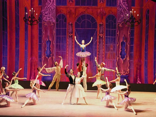 """Moscow Festival Ballet's company of 50 professional dancers share the age-old, rags-to-riches """"Cinderella"""" fairy tale with lyrical charm and physical enchantment Jan. 28."""