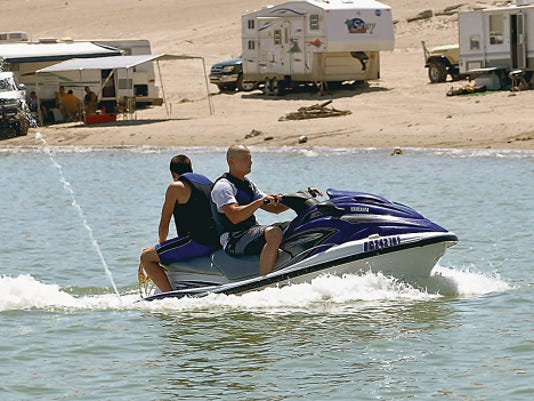 Sun-News file photo   Elephant Butte, New Mexico's largest lake, provides camping and water sports opportunities.