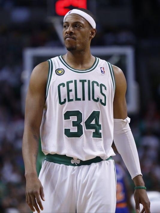 USP NBA: PLAYOFFS-NEW YORK KNICKS AT BOSTON CELTIC S BKN USA MA