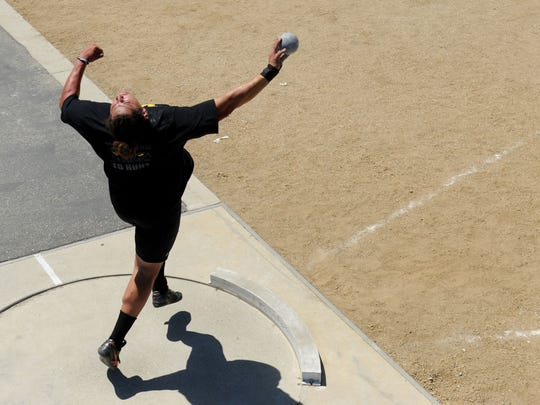 Ventura High's Carlos Aviles won CIF-SS titles in the shot put and discus as a junior, but he believes better throws are ahead for his senior season.