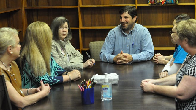 Family Justice Center of Central Louisiana partners and director, Preston Mansour.