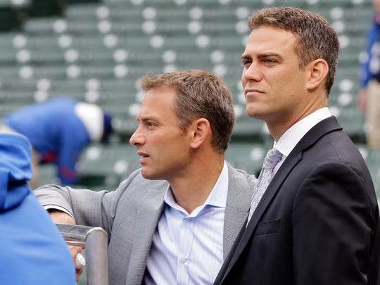 Chicago Cubs President of Baseball Operations Theo
