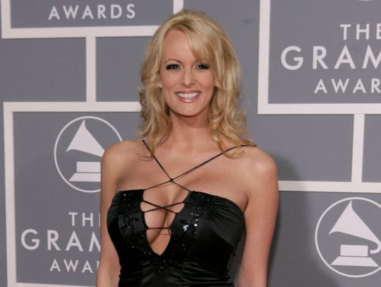 Stormy Daniels, who is alleged to have had an affair