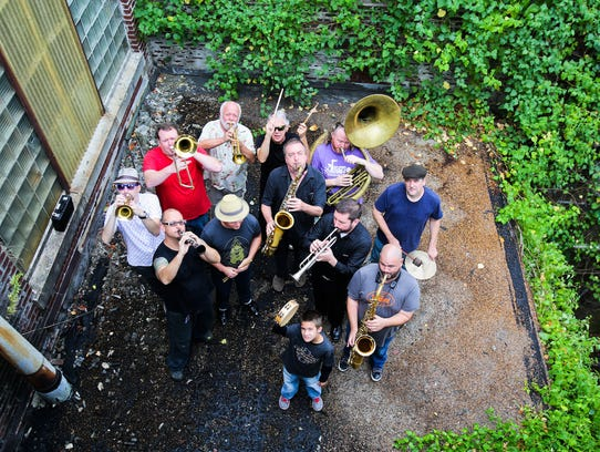 The Mighty Souls Brass performs Saturday at WEVL Fest.