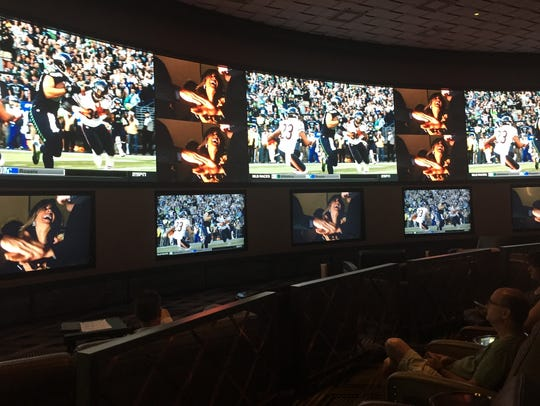 The Race & Sports Book at Cosmopolitan of Las Vegas is one of the trendiest locations on the Strip.