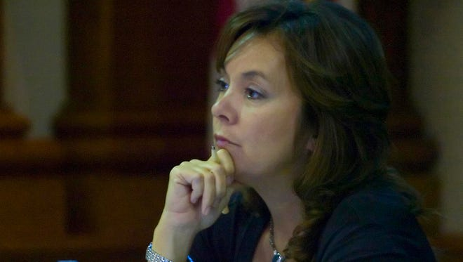 Former Lee County, Fla., commissioner Tammy Hall was sentenced for wire fraud. She worked as an undercover informant for the FBI while serving on the commission.