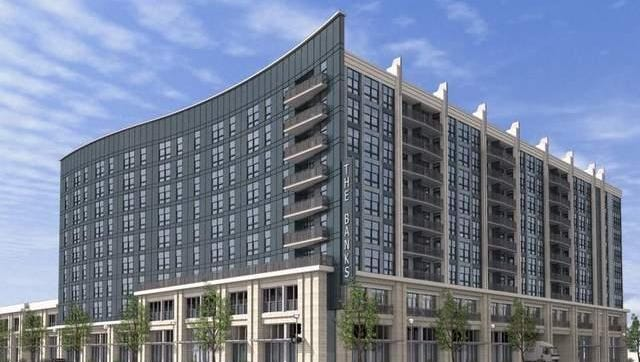 A 2013 artist's rendering of the nine-story apartment building being built in a second phase of development at The Banks.