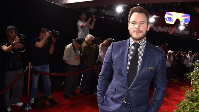 """Chris Pratt attends the Universal Pictures' """"Jurassic World"""" premiere at the Dolby Theatre on June 9, 2015 in Hollywood, California."""