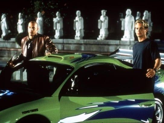 Vin Diesel, left, and Paul Walker star in the original