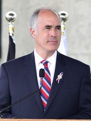 Senator Robert Casey, Jr. (D-PA) speaks  during the
