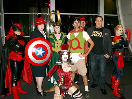Costume contest winners Agent Carter (Jenny Mandeville,