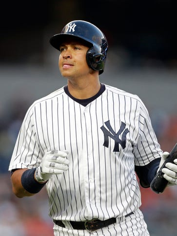 Alex Rodriguez has one hit in his last 21 at-bats.