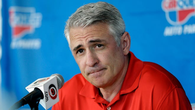 Ron Francis had been the Hurricanes' general manager the past four seasons.