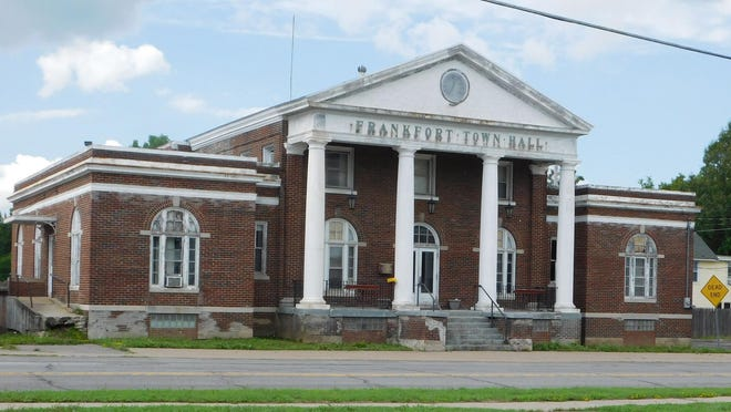 The old Frankfort town hall on South Litchfield Street has been vacant for a half-dozen years, and at this point, town officials have no plans for the building.