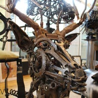 Local craftsman turns rusty scraps into works of art