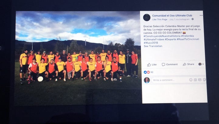 Facebook post claims Colombian ultimate Frisbee players were kicked off bus for speaking Spanish; Greyhound says otherwise