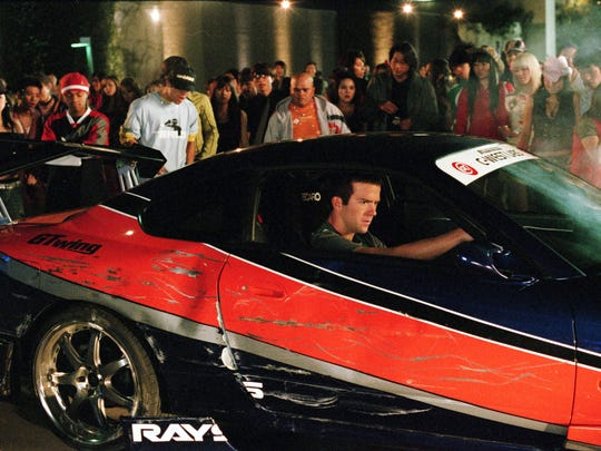 """""""Tokyo Drift"""" stars Lucas Black as an American teenager who gets in over his head in Japan."""