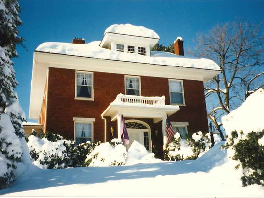 The Wood home on 453 S. Wayne Ave in Waynesboro.
