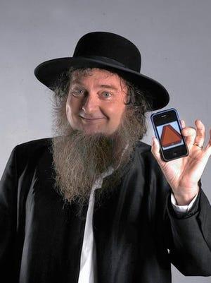 Raymond the Amish Comic performs Thursday in Binghamton.