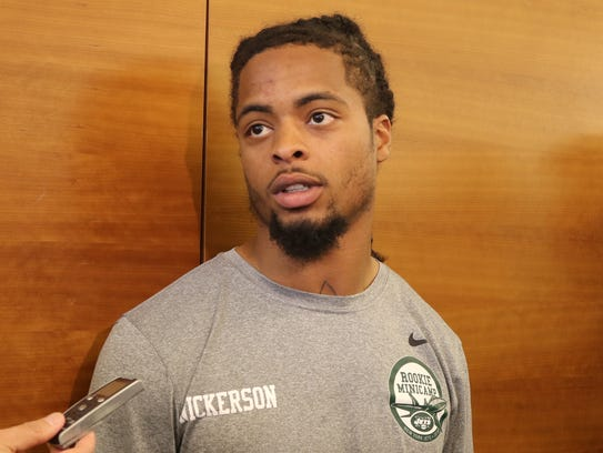 The 6th round pick for the Jets cornerback Parry Nickerson