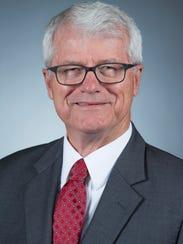 Ben Allen, interim president of Iowa State University