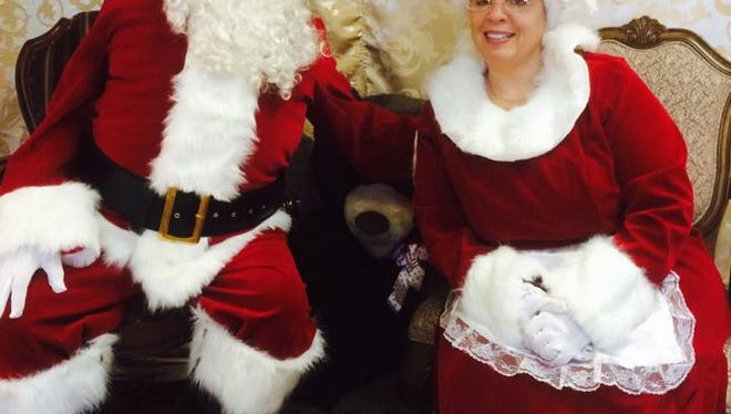 Santa and Mrs. Claus will be at the Holiday Shoppe ready for photos and talking about gifts.