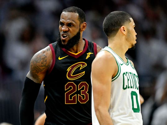 NBA: Playoffs-Boston Celtics at Cleveland Cavaliers