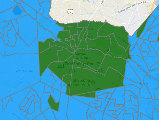 In Lakewood, Democrat Phil Murphy won much of the township,