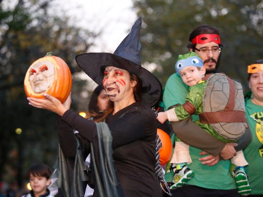 Nyack holds their 29th annual Halloween parade on Saturday,