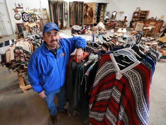 El Paso Rugs owner Rick Gutierrez.