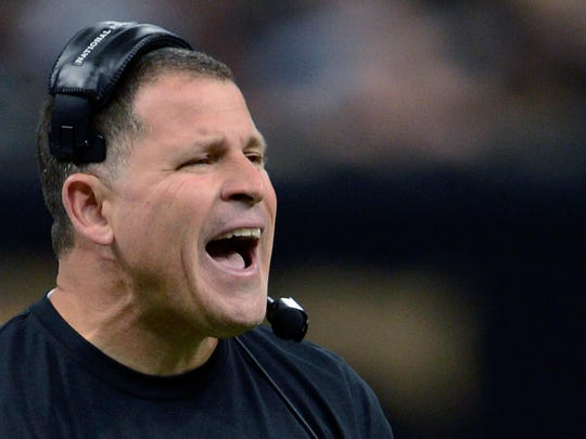 Greg Schiano when he was the Ohio State defensive coordinator
