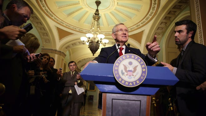 Senate Majority Leader Sen. Harry Reid, D-Nev.